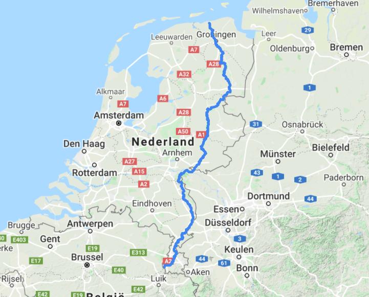 PIeterpad route